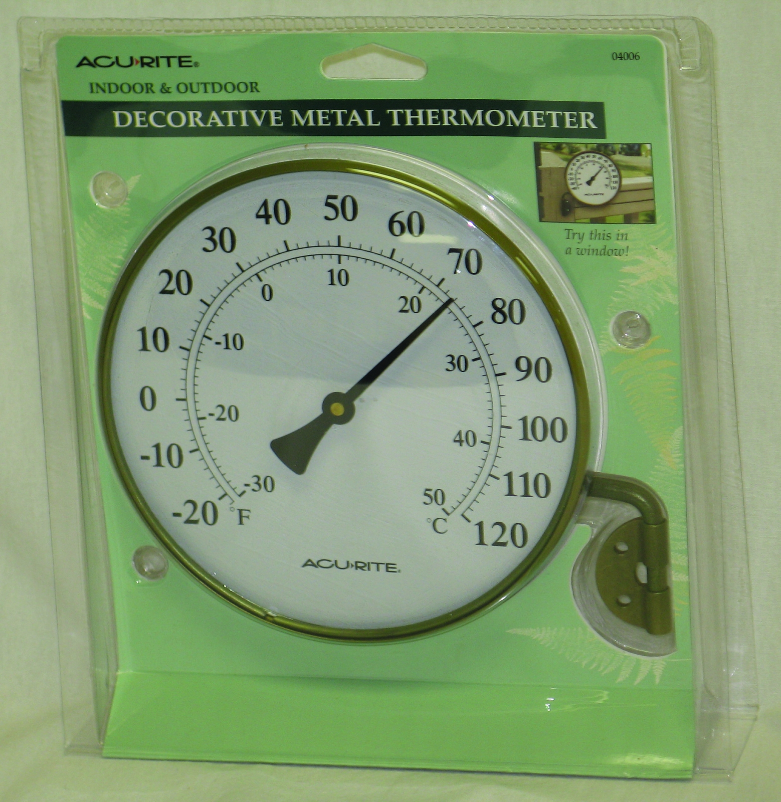 Thermometer Wall Mount With Bracket
