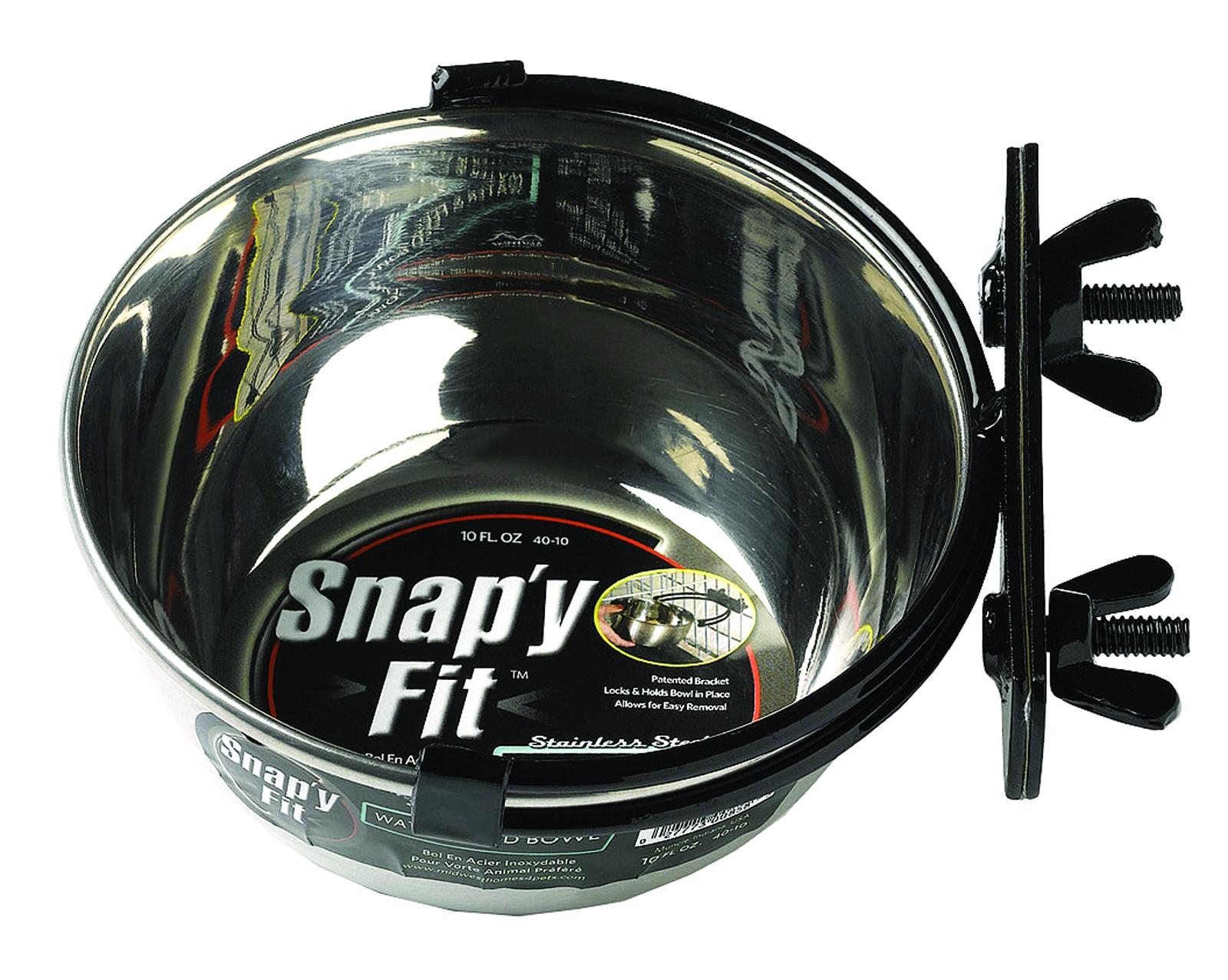 Snap Y Fit Dog Bowl