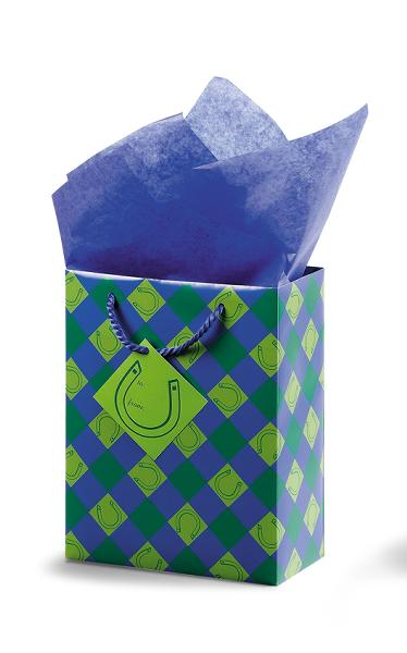 Lucky You! Cub Gift Bag - Blue/Green