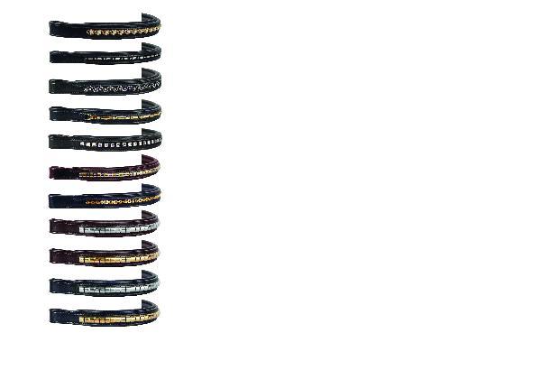 Nunn Finer Pearl & Gold Chain Browband