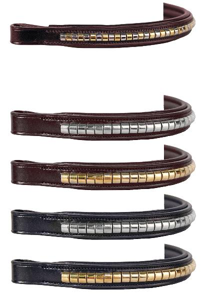 Nunn Finer Alternating Brass & Zinc Mini Clincher Browband