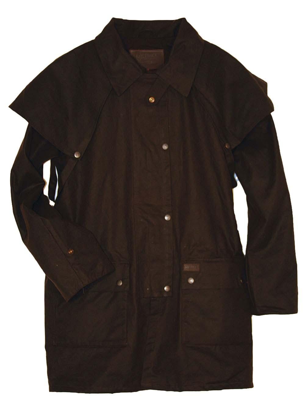 Outback Bush Rangeer Short Oilskin Jacket