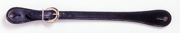Silver Royal Leather Show Spur Strap