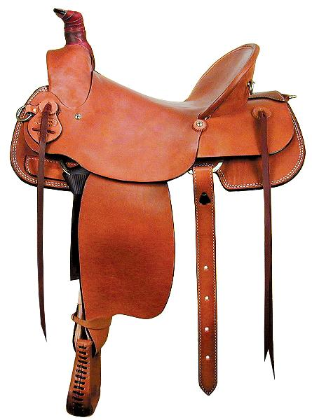 Dakota Saddlery Mule Saddle