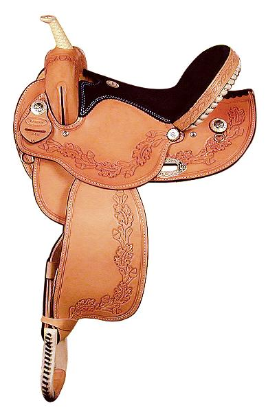 Dakota Saddlery Barrel Saddle