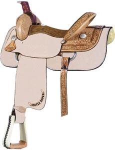 Billy Cook Saddlery Motes 1/2 Breed Roper Saddle