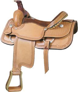 Billy Cook Saddlery Motes Arrowhead Roper Saddle