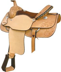 Billy Cook Saddlery Charlie Ashcraft All Around Saddle