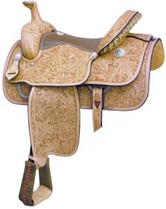 Billy Cook Saddlery Motes Oakleaf & Acorn Roper Saddle
