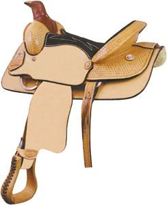 Billy Cook Saddlery Youth Basket Roper Saddle
