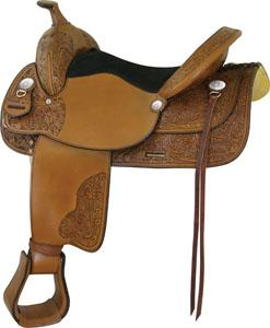 Saddlesmith Of Texas Sunrise Floral Pleasure Saddle