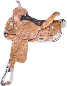 Billy Cook Saddlery Tub Turner Pro Racer Saddle