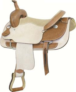 Billy Cook Saddlery Ft Worth Cutter Saddle