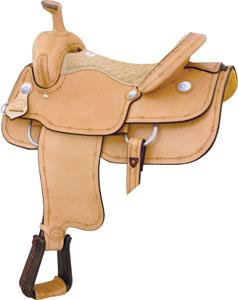 Billy Cook Saddlery Motes Barbed Wire Roper Saddle