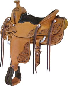 Billy Cook Saddlery Saratoga Competiotion Roper Saddle
