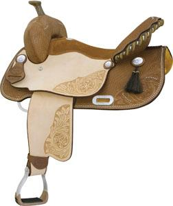 Billy Cook Saddlery Running On Luck Saddle