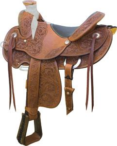 Billy Cook Saddlery Deadwood Saddle With Padded Seat Saddle