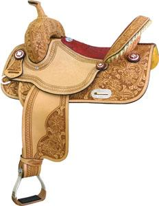 Saddlesmith Of Texas Connie Combs Floral Gator Saddle