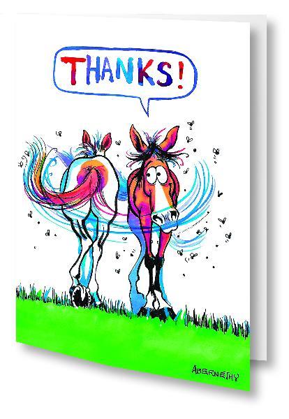 "Fergus ""Thank You"" Card"