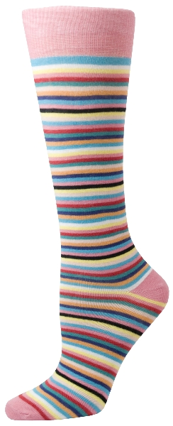 Gatsby Girl Novelty Stripes Socks