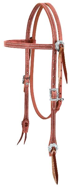 Weaver Leather Stockman Browband Headstall