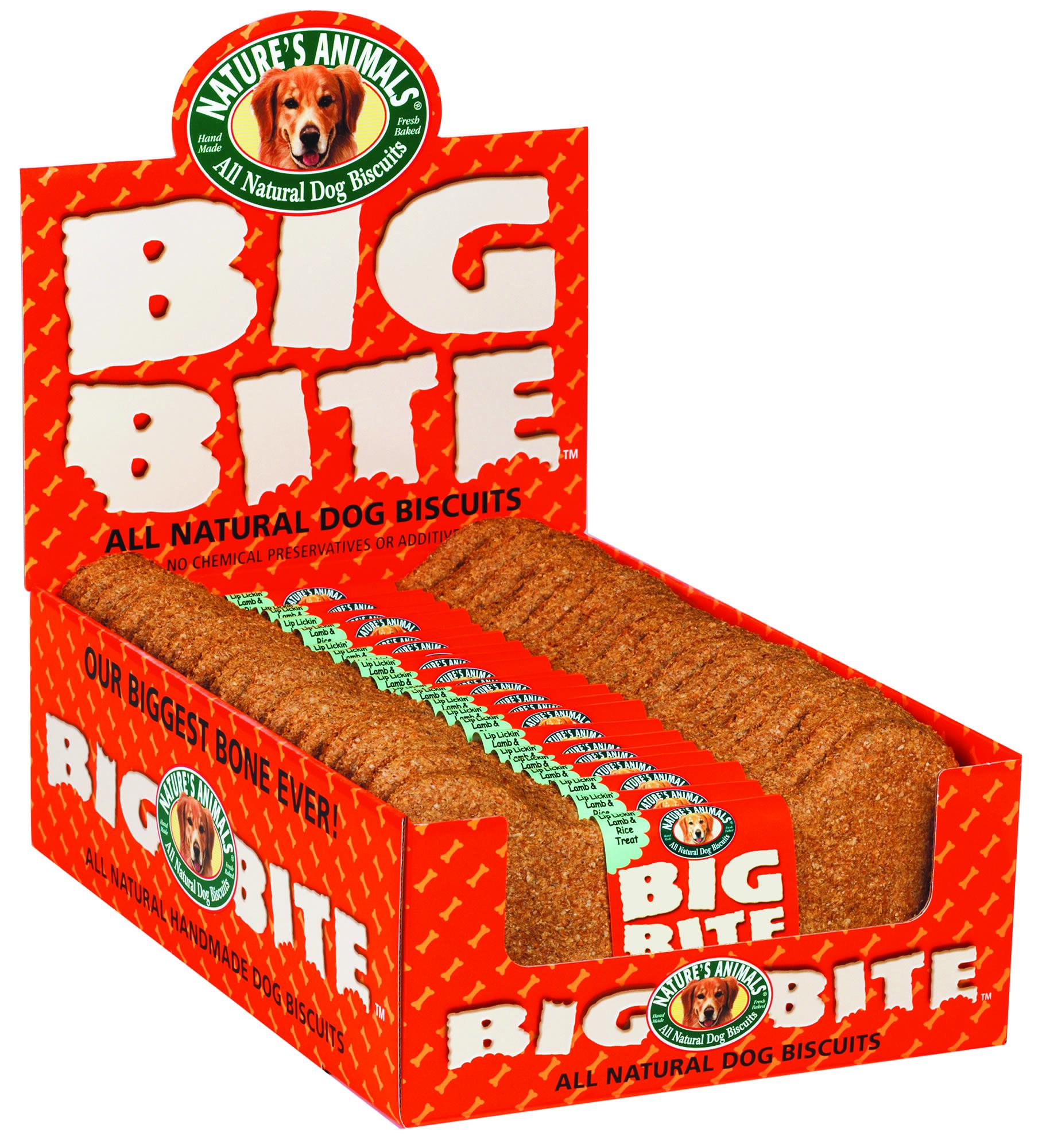 Nature's Animals Big Bite Biscuit