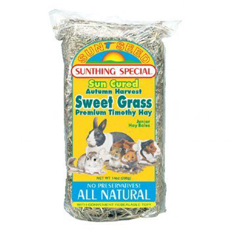 Sunseed Sweetgrass Hay For Small Animals