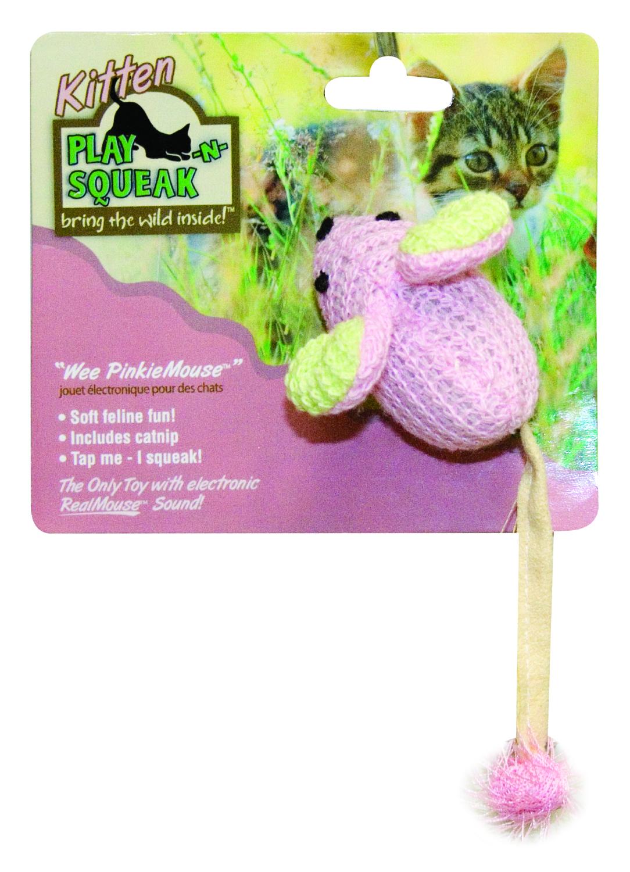 Play N Squeak Wee Pinkie Mouse Cat Toy