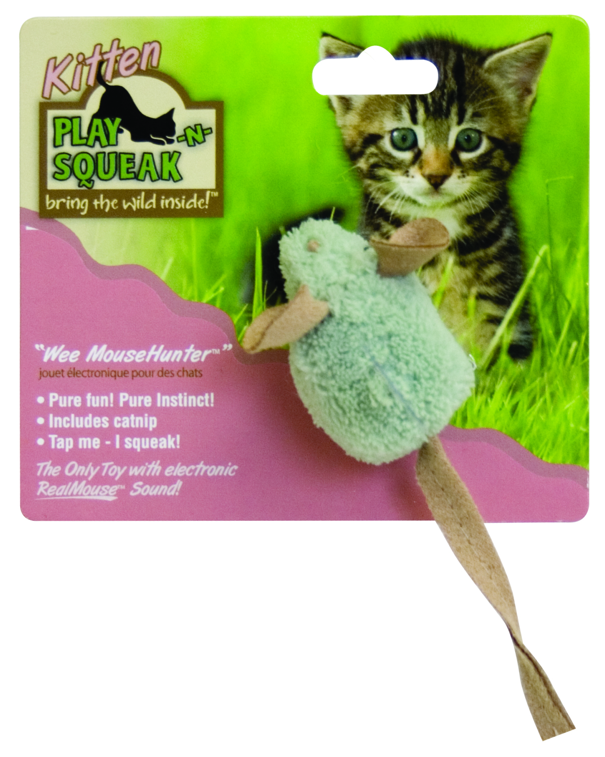 Play N Squeak Wee Mouse Hunter Cat Toy