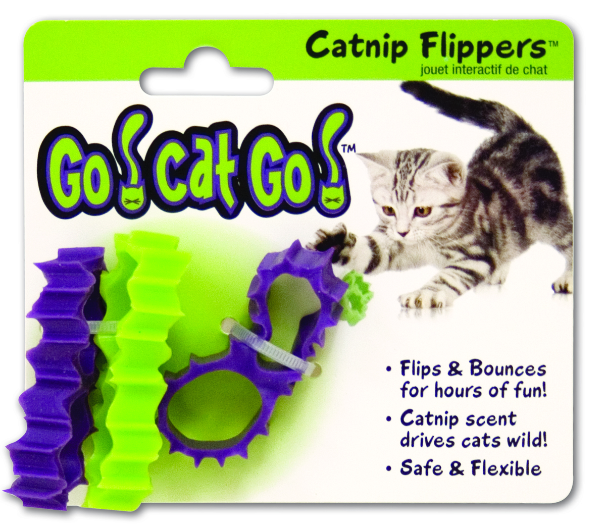 Go! Cat Go! Catnip Flippers