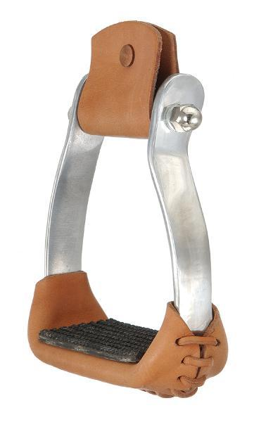 Royal King Colored Aluminium Barrel Racer Stirrups