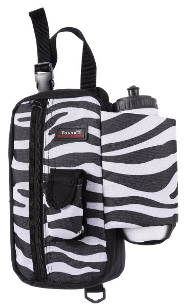 Tough-1 Print Water Bottle with Zipper Pouch