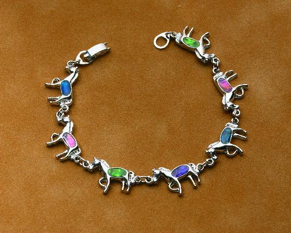 Horse Shape Paua Bracelet