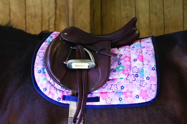 Perri's Flower Saddle Pad