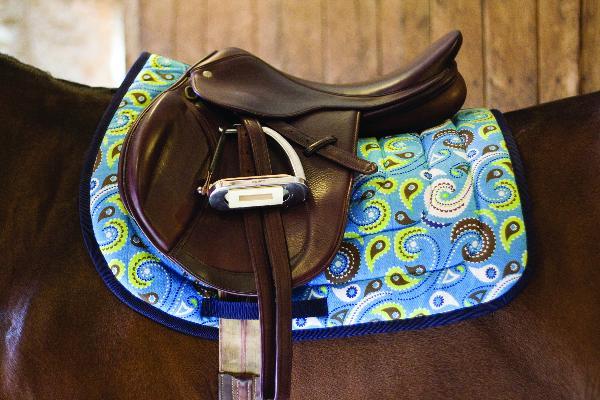 Perri's Paisley Saddle Pad