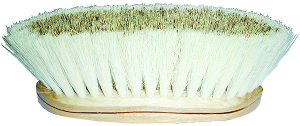 Perri's Multi Purpose Medium Bristle Brush/Wooden Handle