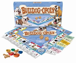 BULLDOG-OPOLY: A Board Game of Tail-Wagging Fun!
