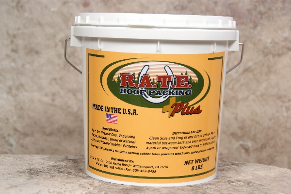 R.A.T.E. Hoof Packing - Plus
