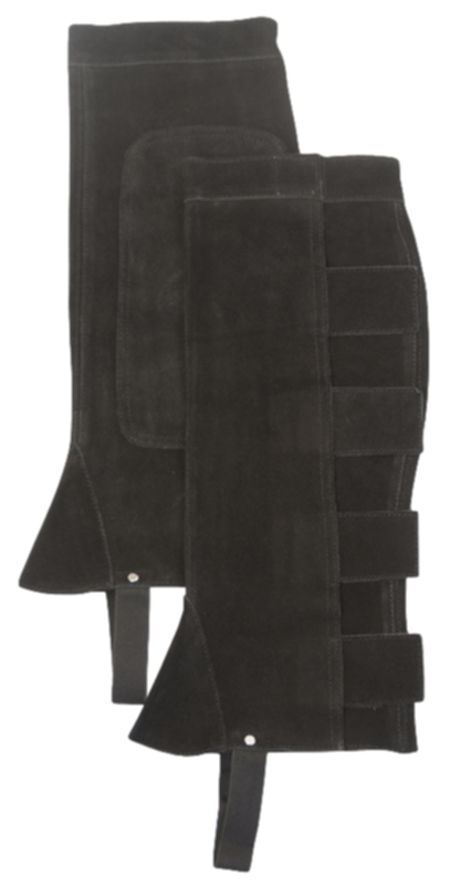 Gatsby Girl Ladies Classic Suede Half Chaps