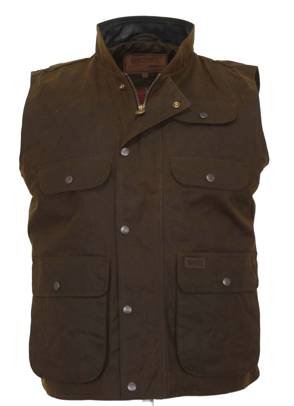 Outback Oilskin Men's Overlander Vest