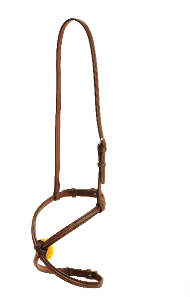 TORY LEATHER Round Raised Figure-8 Noseband
