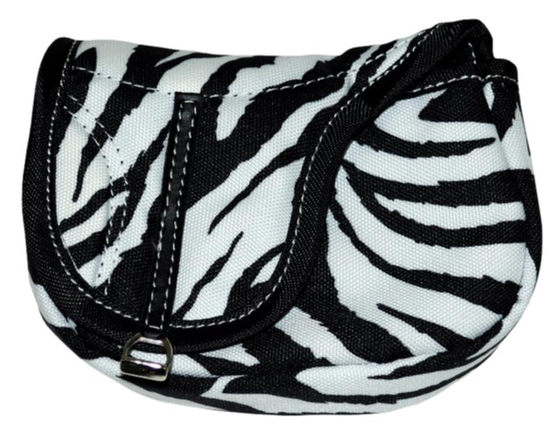 English Saddle Shaped Nylon Accessory Bag