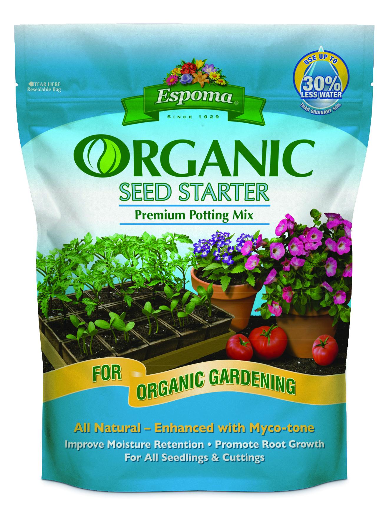 Espoma Organic Seed Starter - 16 Quart