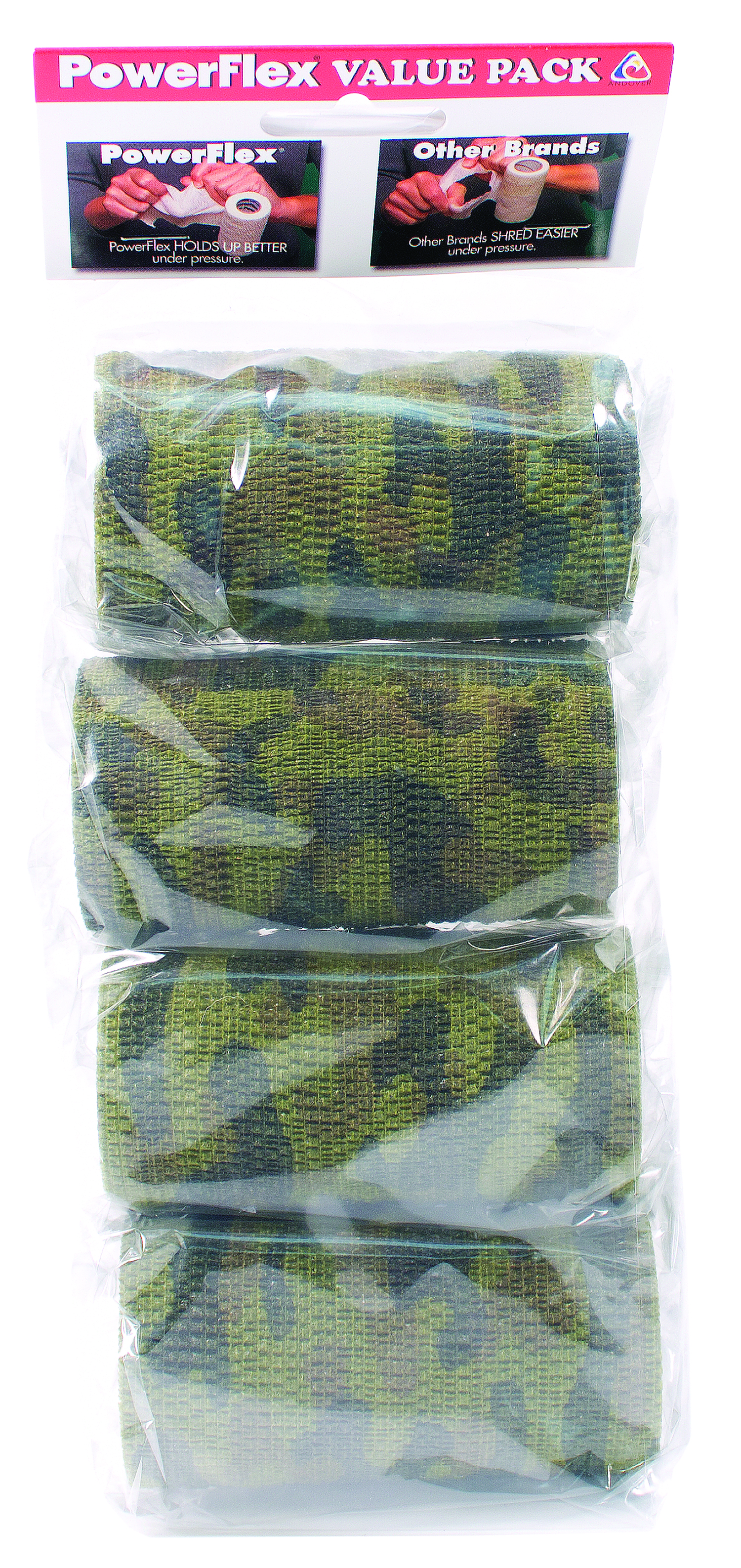 Powerflex Value Pack - Woodland Camo