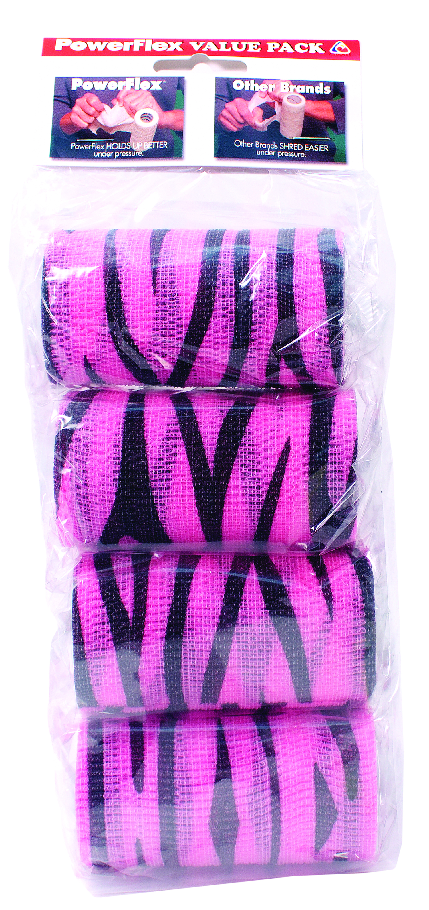 Powerflex Value Pack - Pink Zebra