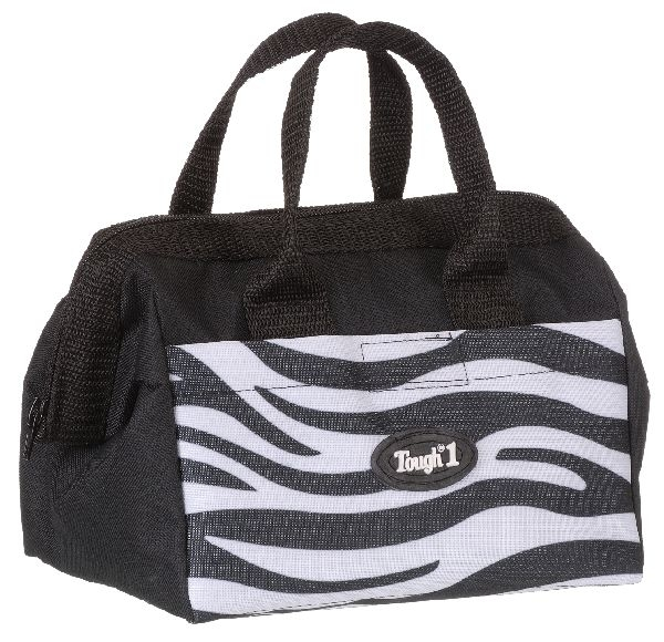 Tough-1 Groomer Accessory Bag - Zebra Prints