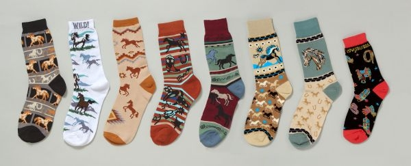 Gift Corral Adult Fashion Socks - Brown Boots