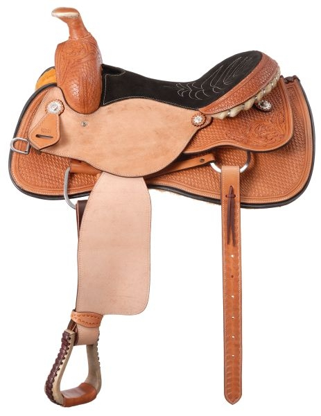 Silver Royal Arizona Roper Saddle