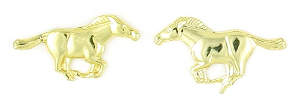Finishing Touch Running Mustang Earrings
