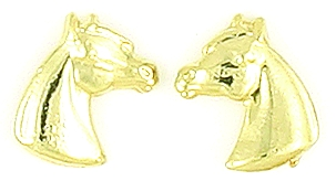 Finishing Touch Arabian Horse Head Earrings